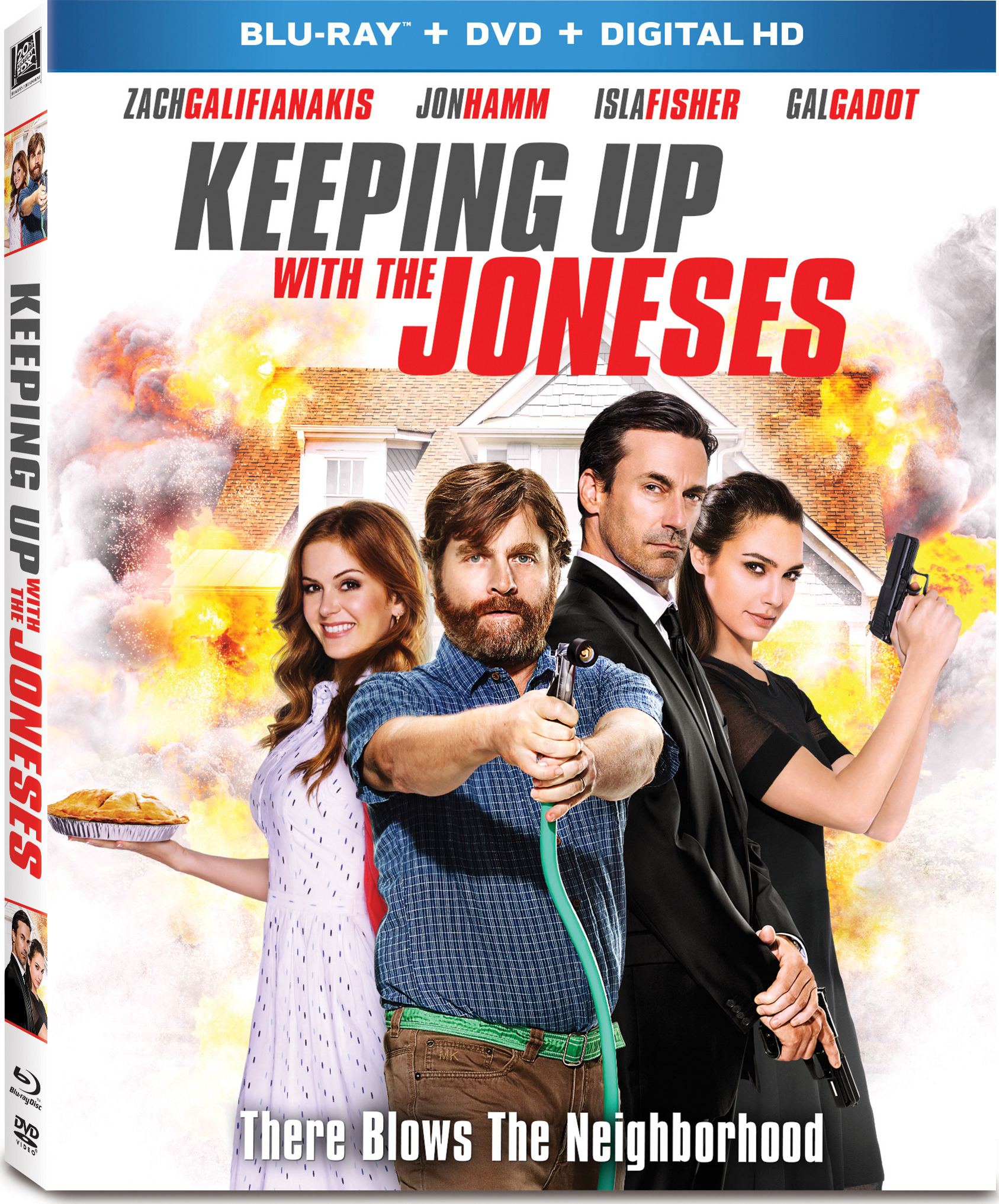 Keeping Up with the Joneses (2016) poster image
