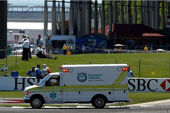 2004 usgp ambulance - schumacher