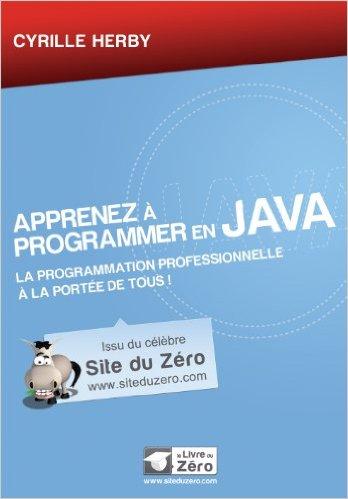 télécharger Apprenez à programmer en Java