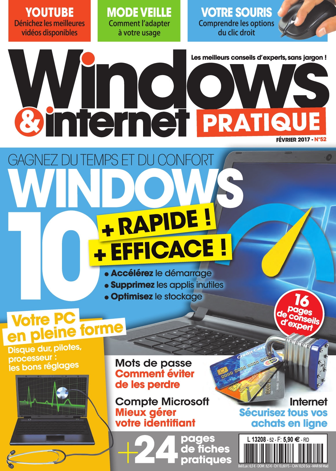 Windows & Internet Pratique N°52 - Février 2017