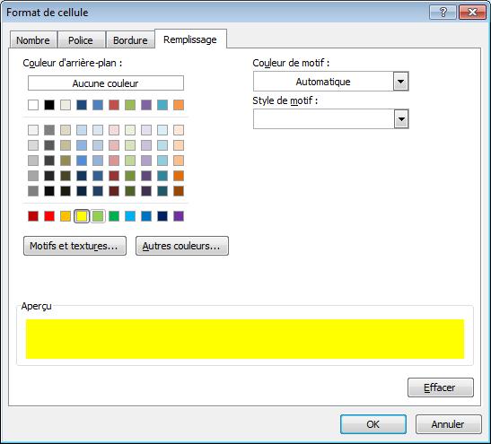 79eda92ac309f Puis cliquer a nouveau sur  Ok  afin d appliquer la nouvelle mise en forme.
