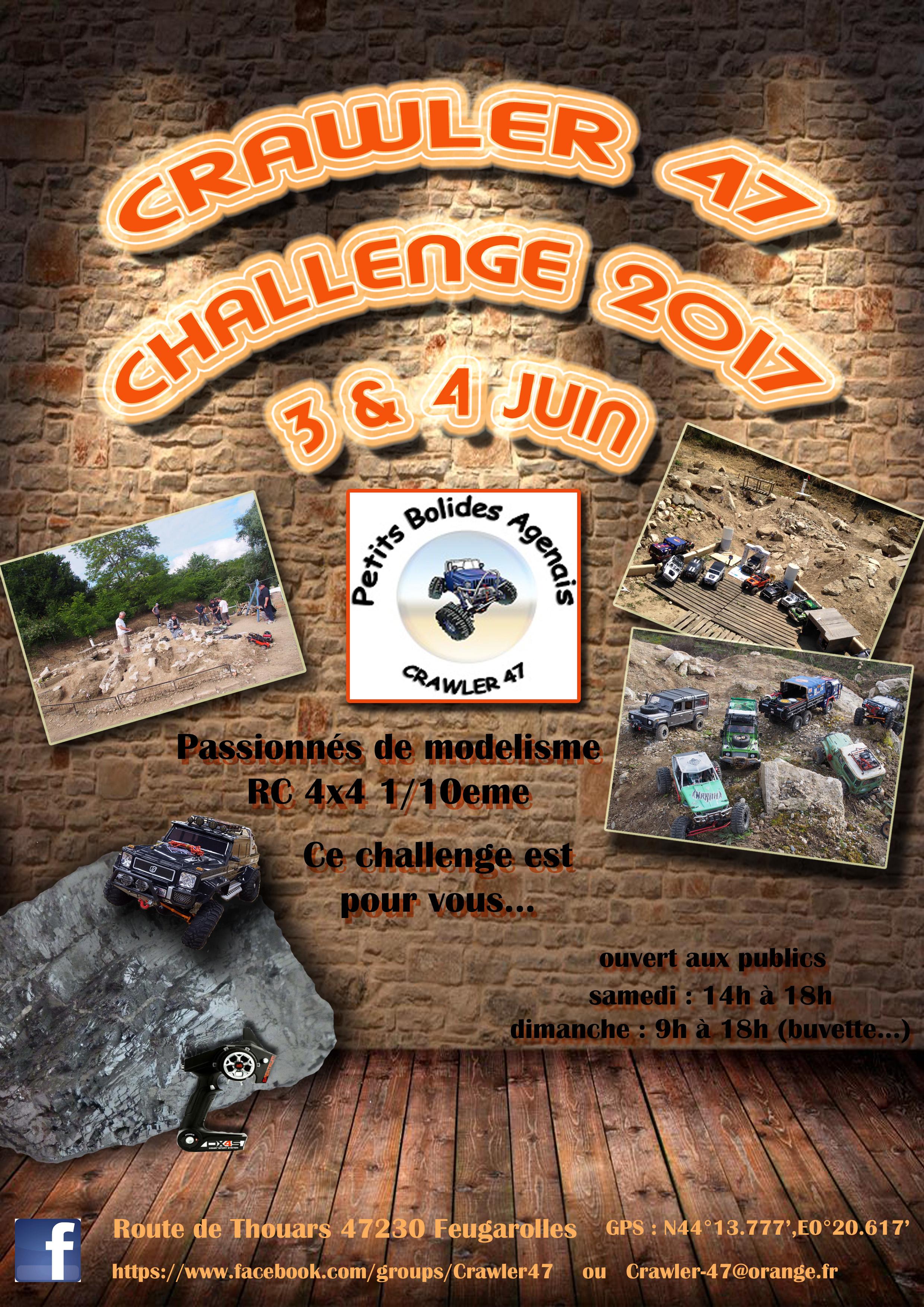 Challenge 2017 CRAWLER 47 (3 & 4 JUIN) mise à jour 170114090607135335