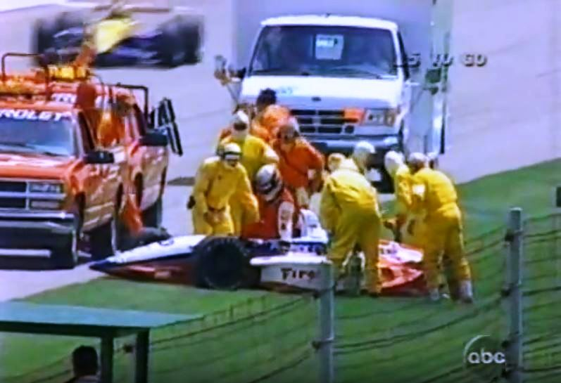 1995 indy 500 scott pruette crash