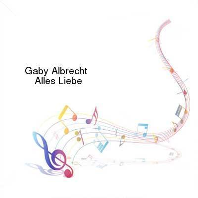 SceneHdtv Download Links for Gaby_Albrecht-Alles_Liebe-DE-CD-FLAC-2010-VOLDiES
