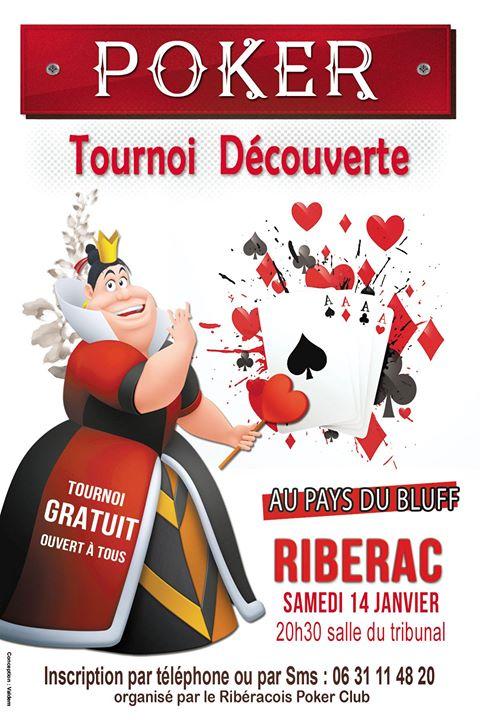 Ribérac Poker Téléthon 2016