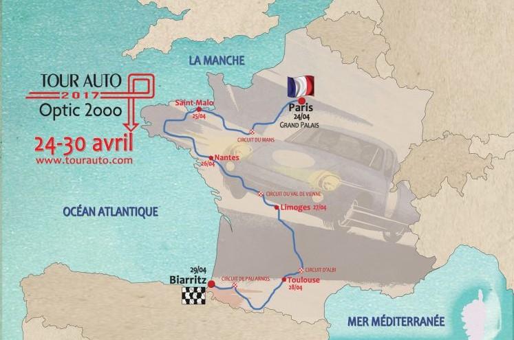 Tour Auto 2017 du 24 au 30 avril 2017 170119102125503968