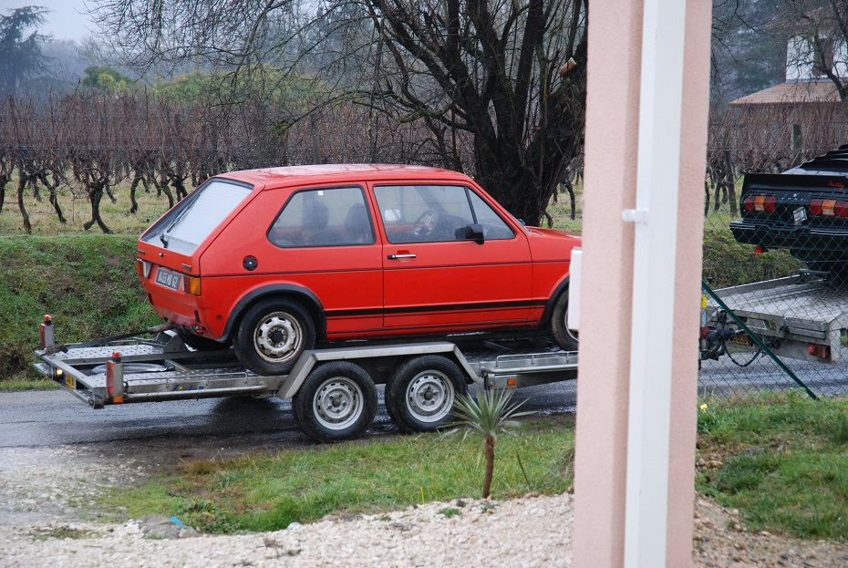 remise en route golf 1 gti chassi A 170121061006288592