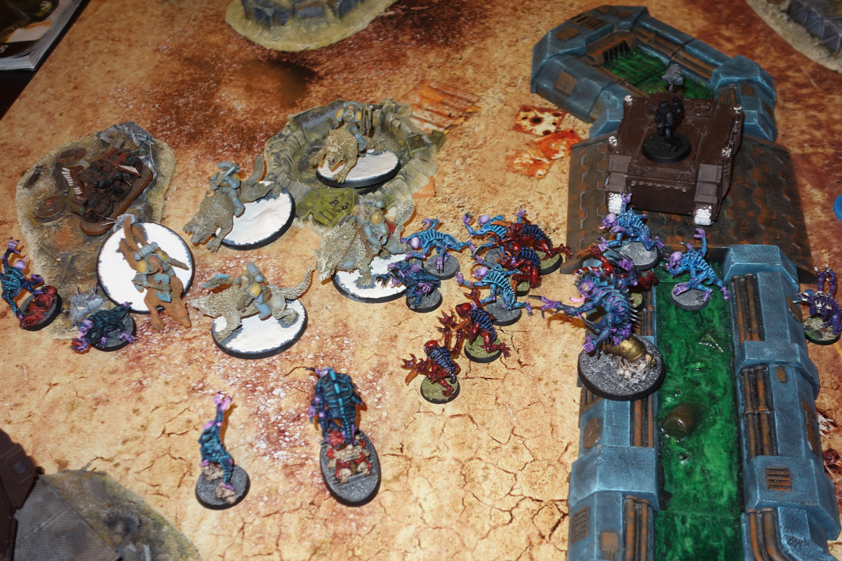 Genestealer Cults Vs. Space Wolves (1000 pts 0 PM) 170121104032956927