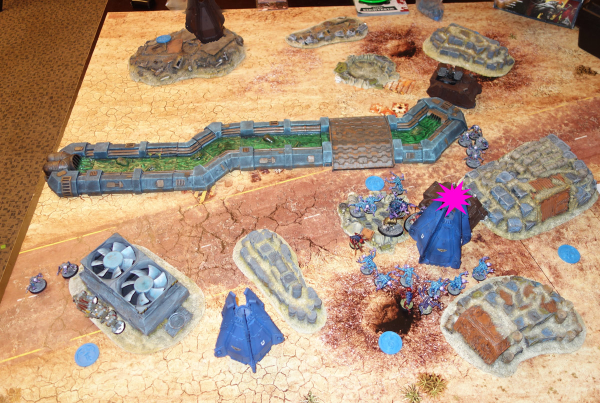 Genestealer Cults Vs. Space Wolves (1000 pts 0 PM) 170121122222838370