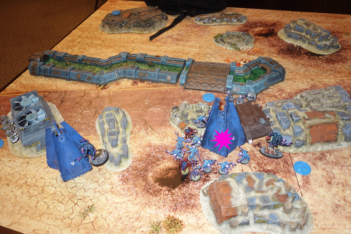 Genestealer Cults Vs. Space Wolves (1000 pts 0 PM) 17012112311744542