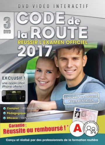 TELECHARGER MAGAZINE Code de la route 2017 - dvd 1 - 16 séries
