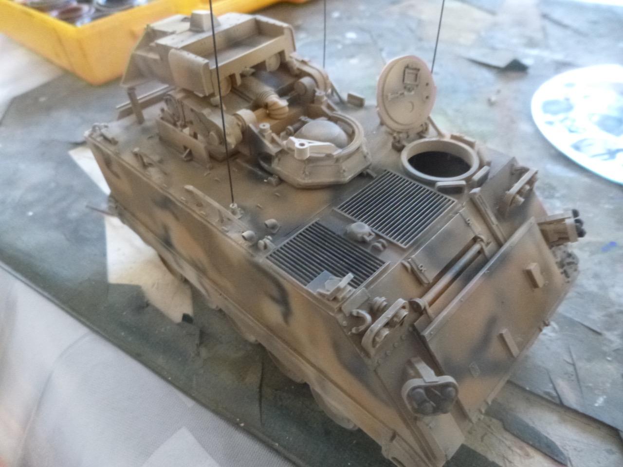 M113 / M109 Tow, une conversion en résine Verlinden au 1/35, base Tamiya 17012212441366142