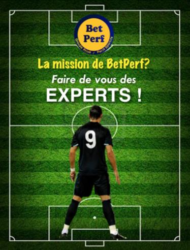 Inscrivez-vous sur BetPerf.com