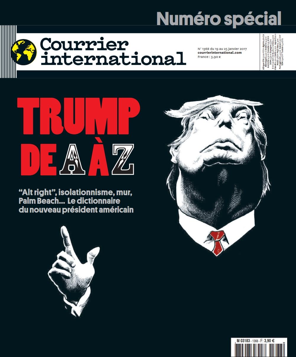 Courrier international N°1368 - 19 au 25 Janvier 2017