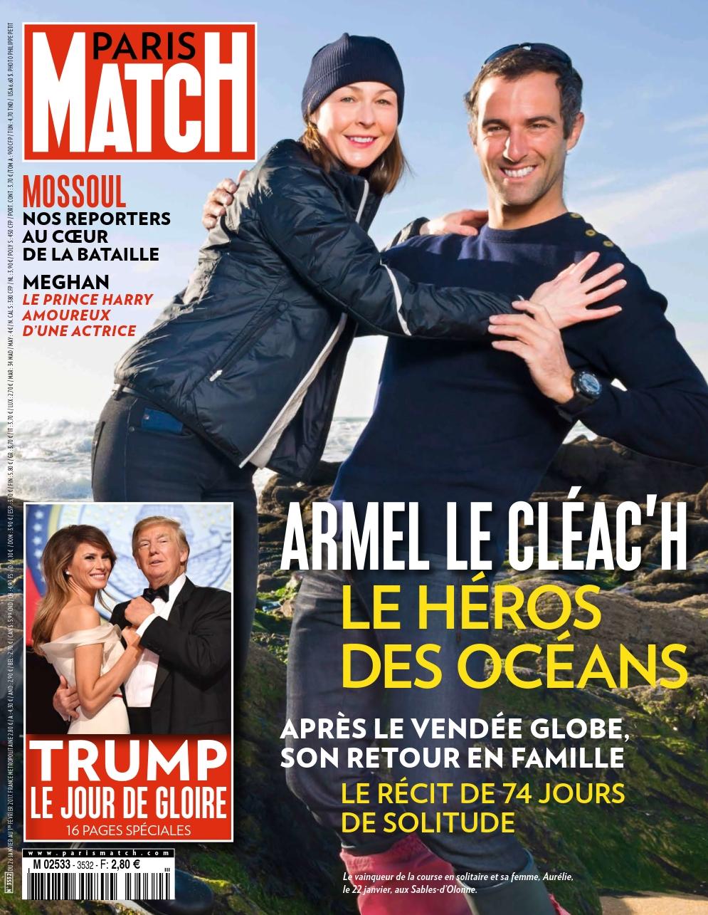 Paris Match N°3532 - 26 Janvier au 1 Février 2017
