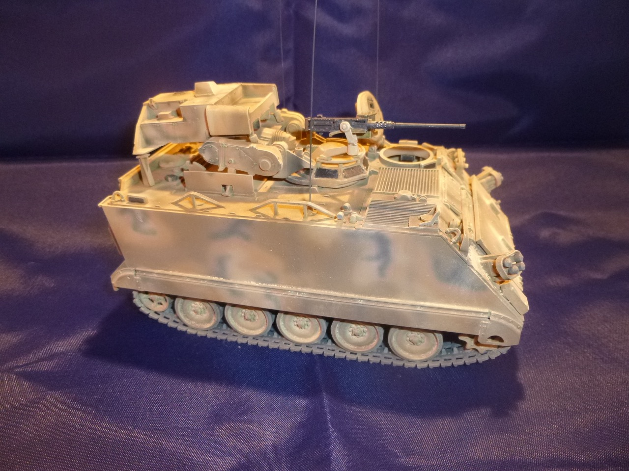 M113 / M109 Tow, une conversion en résine Verlinden au 1/35, base Tamiya 17012510492485247