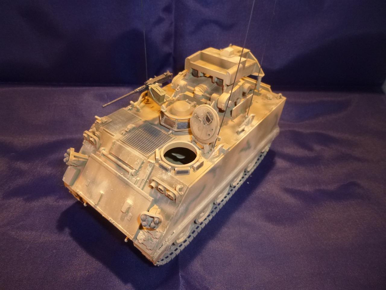 M113 / M109 Tow, une conversion en résine Verlinden au 1/35, base Tamiya 170125104951770929