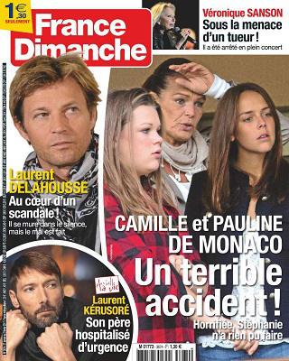 France Dimanche N°3674 - 27 Janvier au 2 Février 201