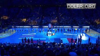 Demie finale handball Championnat du monde France Slovénie HDTV 720p