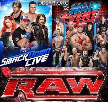 RAW Smackdown et Main Event 02-03 Février 2017 HDTV 720p