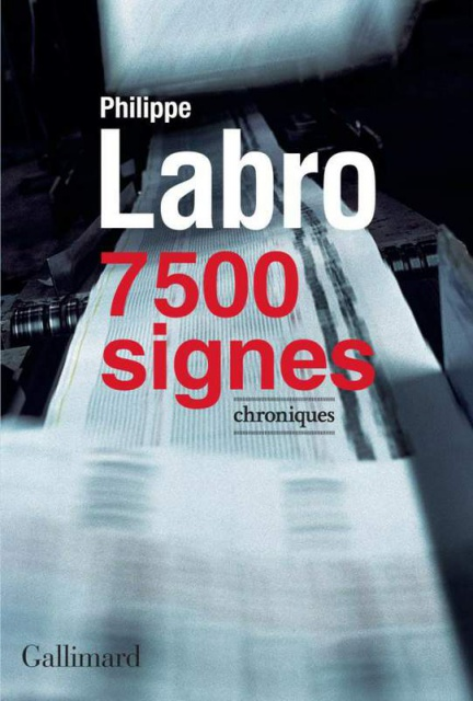 télécharger Philippe Labro - 7 500 signes