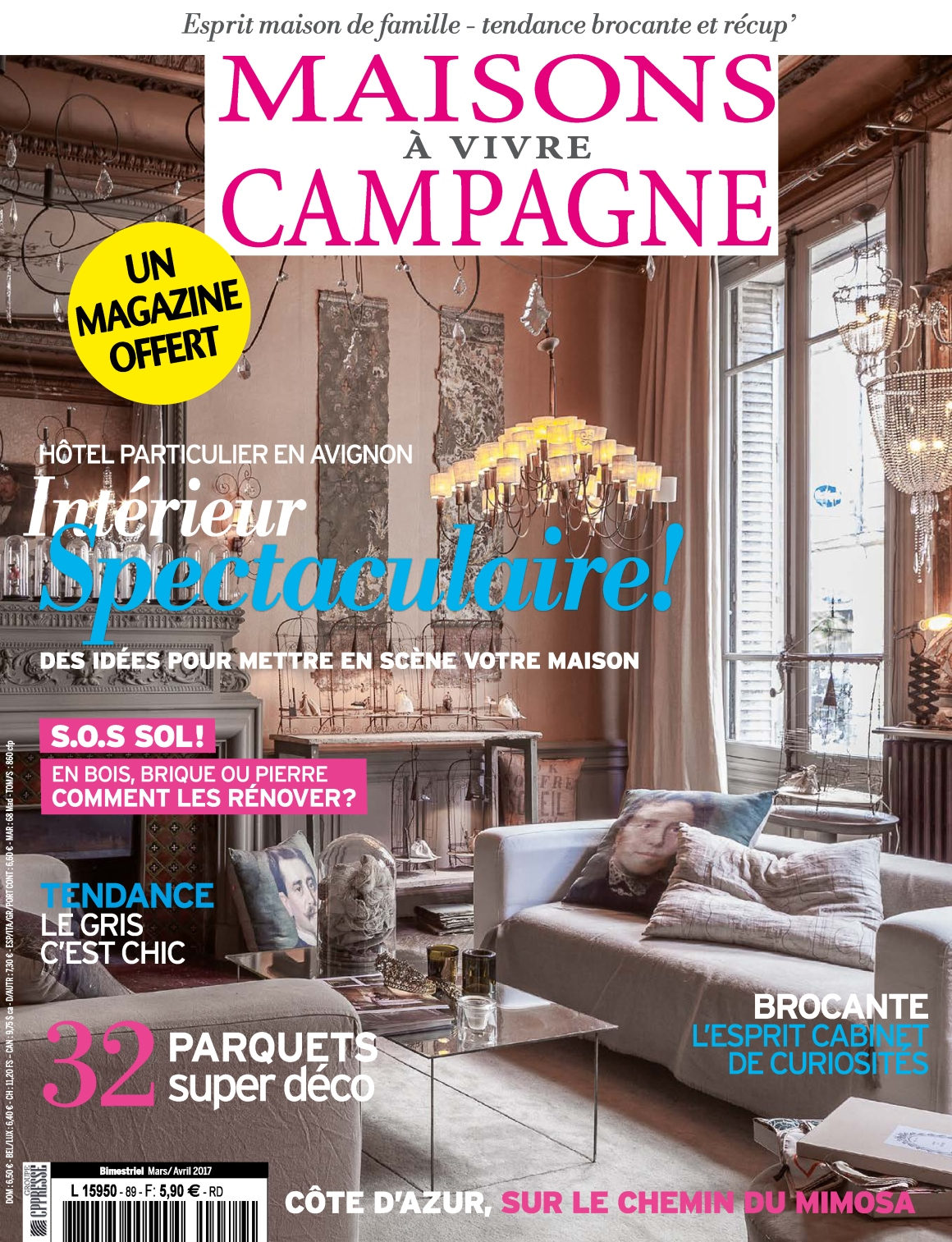 telecharger maisons vivre campagne n 89 mars avril 2017 en torrent. Black Bedroom Furniture Sets. Home Design Ideas