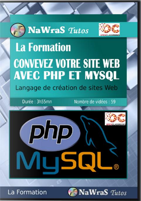 télécharger La Formation - Concevez votre site web avec PHP et MySQL