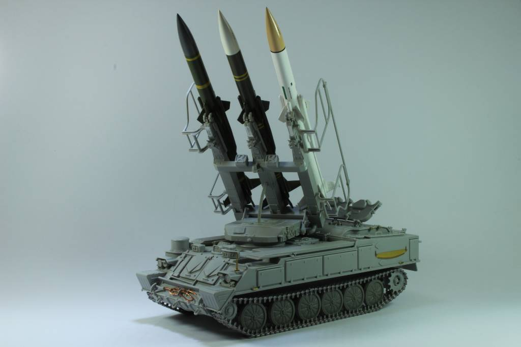 Montage Russia SA-6 Gainful ( 2K12 Kub ) Trumpeter 1/35 170204050030514001
