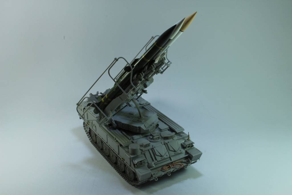 Montage Russia SA-6 Gainful ( 2K12 Kub ) Trumpeter 1/35 170204050524248591