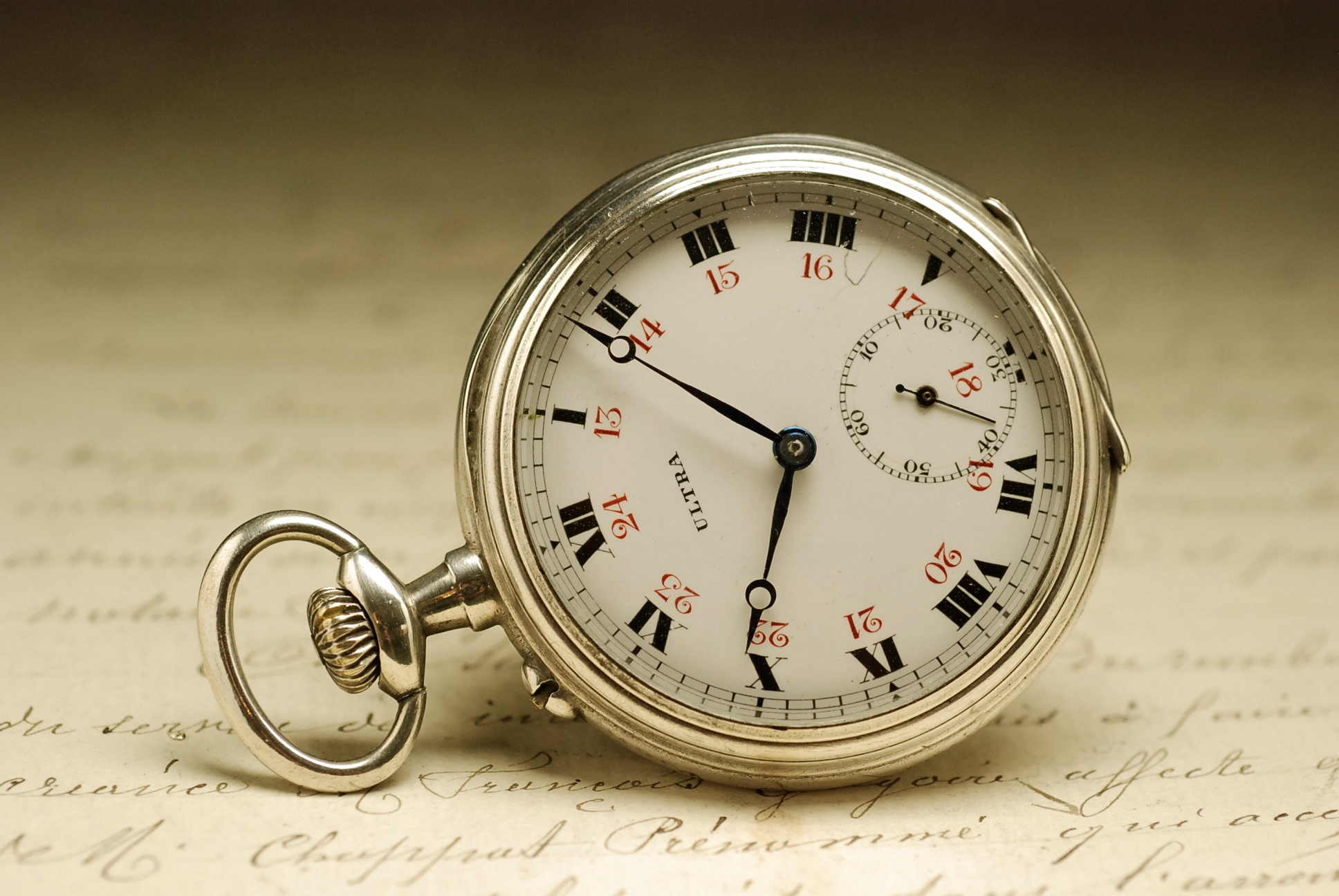 ancienne montre gousset en argent 1920 vintage silver. Black Bedroom Furniture Sets. Home Design Ideas