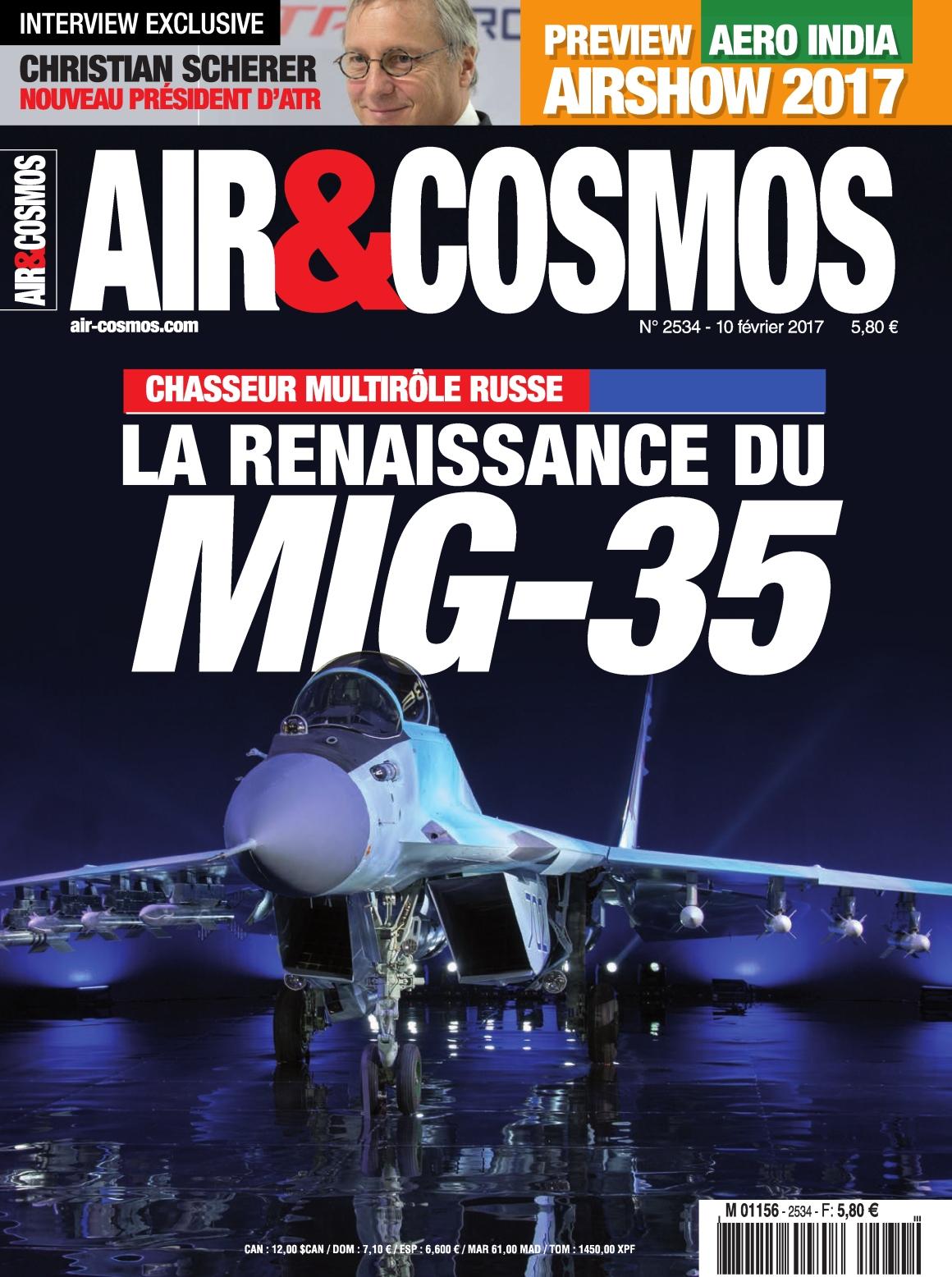 Air & Cosmos N°2534 - 10 au 16 Février 2017