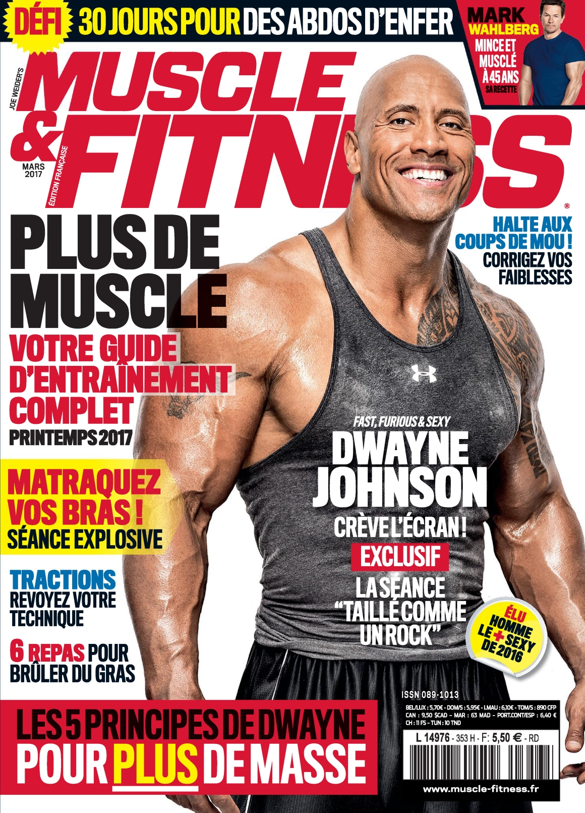 Muscle & Fitness N°353 - Mars 2017