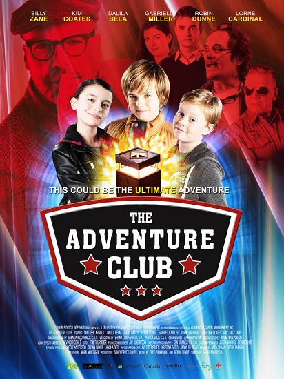 Klucz do przygody / The Adventure Club (2017) PLDUB.WEB-DL.XviD-KiT / Dubbing PL
