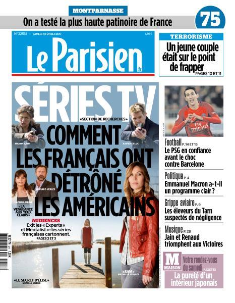 Le Parisien du Samedi 11 Février 2017