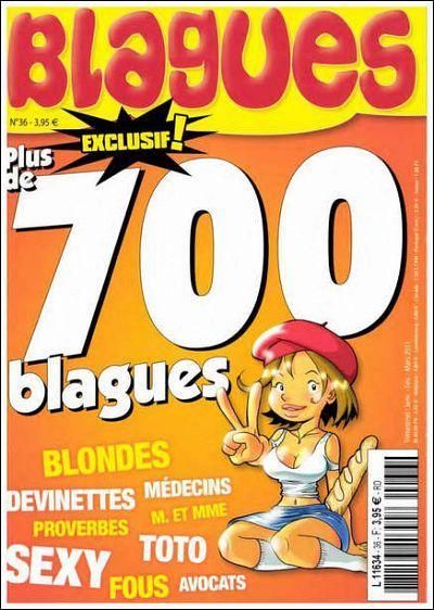 Blagues N°36 - Plus de 700 Blagues