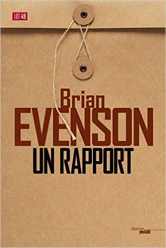 télécharger Un rapport de Brian EVENSON 2017
