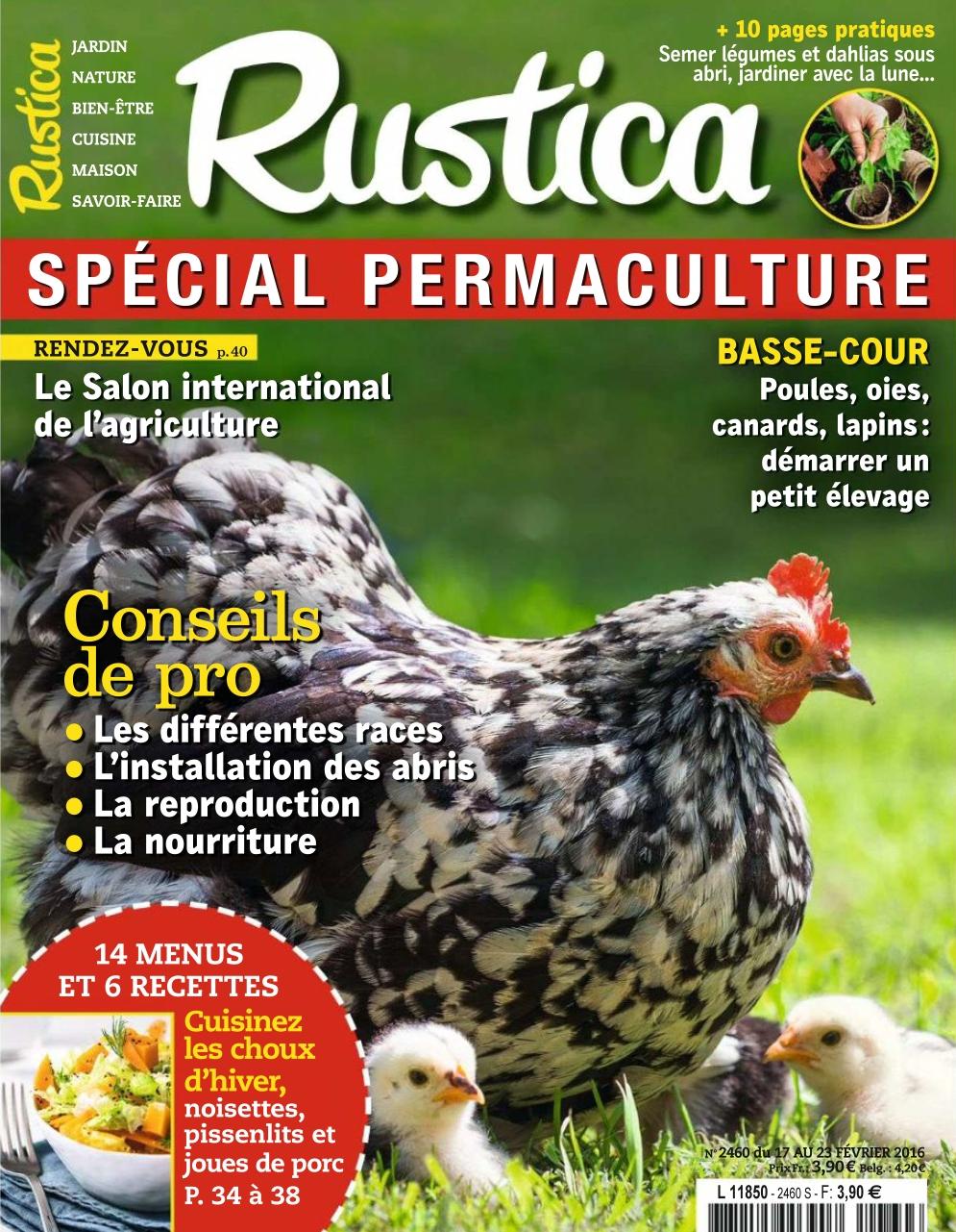 Rustica N°2460 - 17 au 23 Février 2017