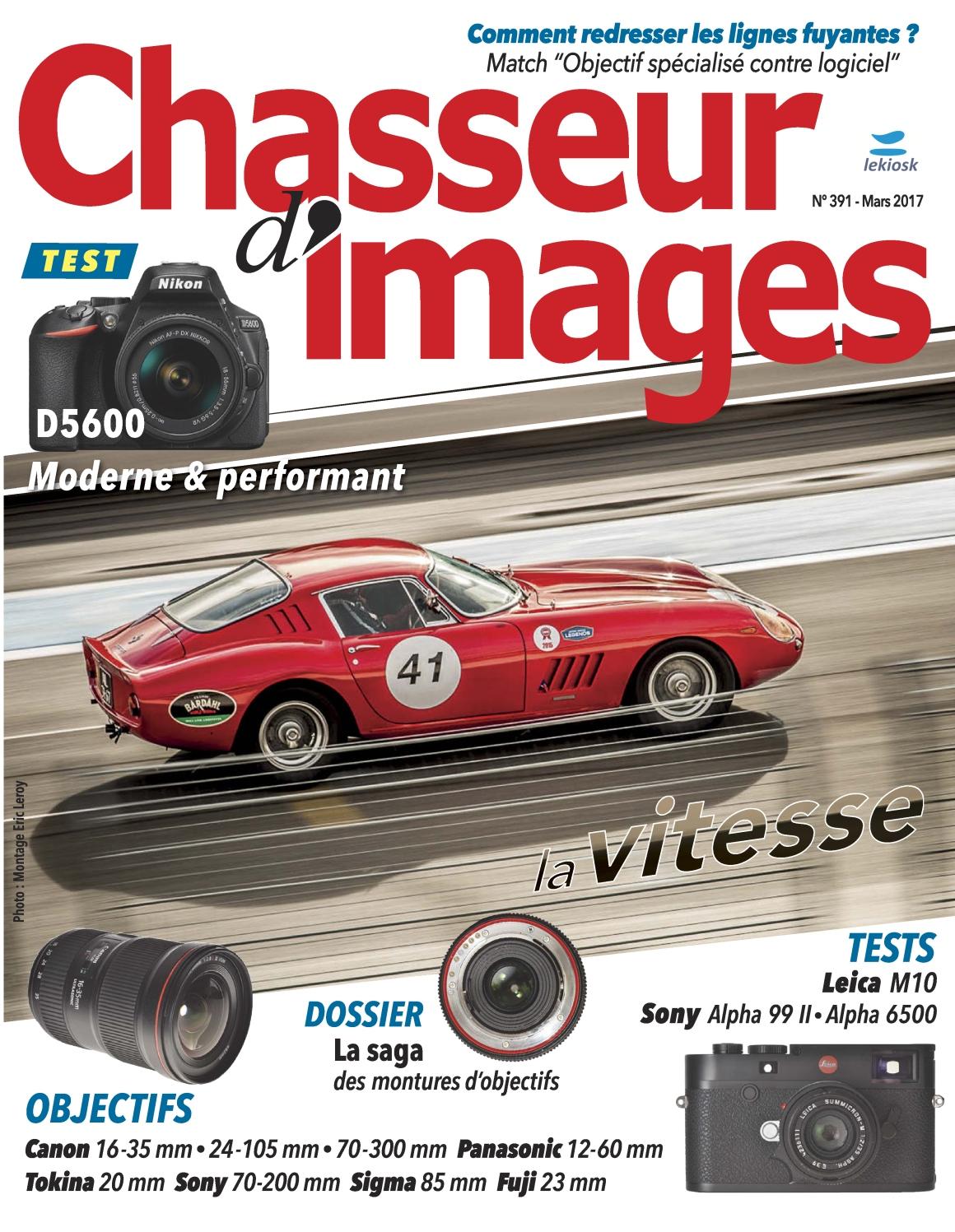 Chasseur d'Images N°391 - Mars 2017