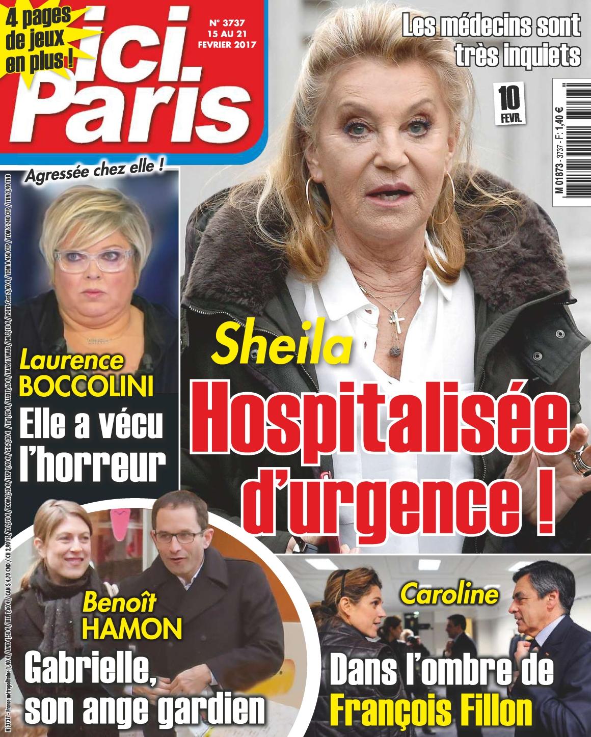 Ici Paris N°3737 - 15 au 21 Février 2017