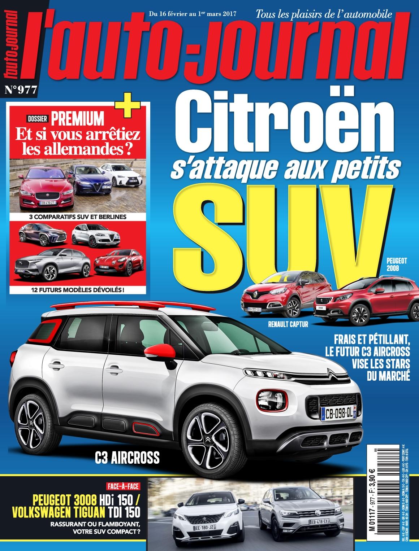 L'Auto-Journal N°977 - 16 Février Au 1 Mars 2017