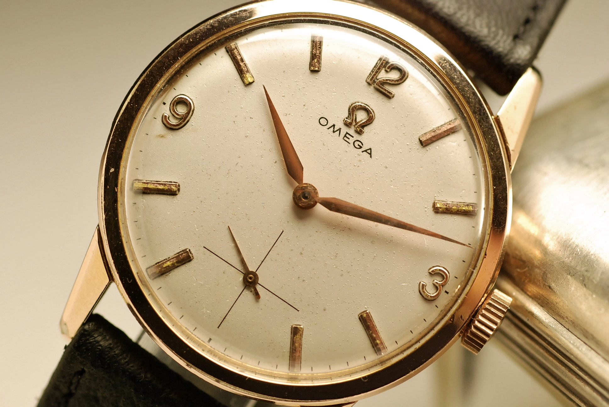 ancienne montre omega cal 268 1960 vintage watch ebay. Black Bedroom Furniture Sets. Home Design Ideas