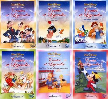 Disney Contes et Légendes Intégrale DVDRIP FRENCH