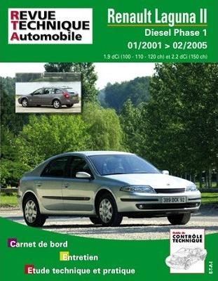 télécharger Revue technique de la Renault Laguna II