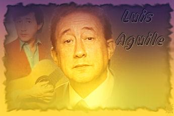 Cantante y showman Luis Aguilé