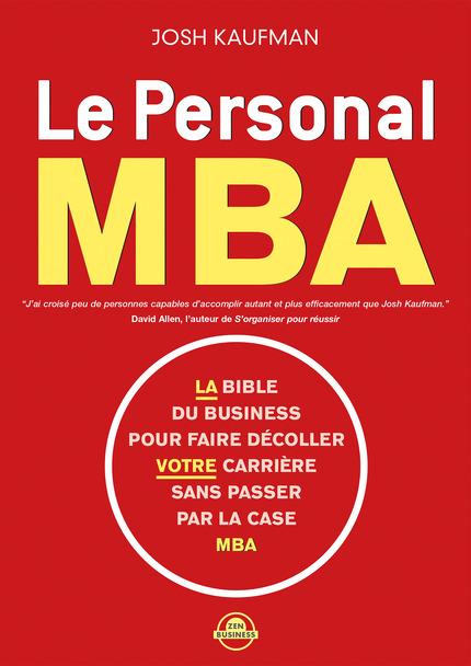TELECHARGER MAGAZINE Le Personnal MBA - Josh Kaufman