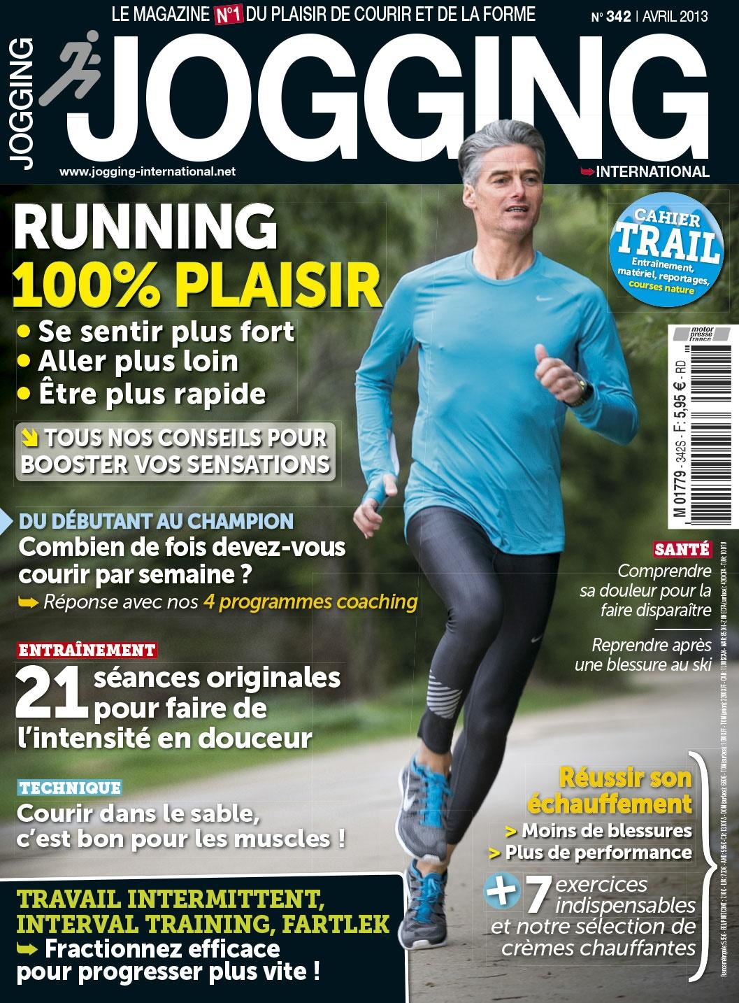 Jogging International N°342 - Running 100% Plaisir