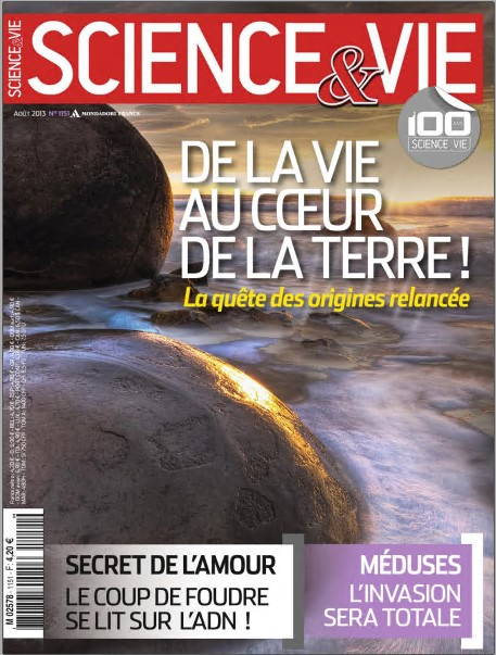 Science & Vie N°1151 : De la vie au coeur de la Terre !