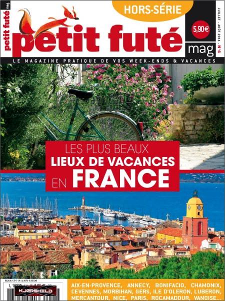 Petit Futé Hors-Serie N°6 - Les plus beaux lieux de vacances en France