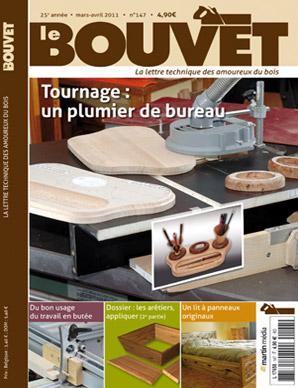 Bouvet N°147 - Tournage : Un plumier de bureau