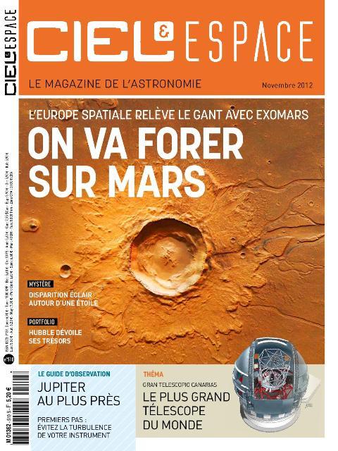 Ciel et Espace N°510 - On va Forer sur Mars